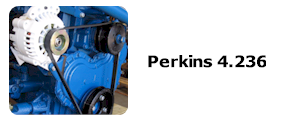 Serpentine Pulley Kit For Perkins 4.236