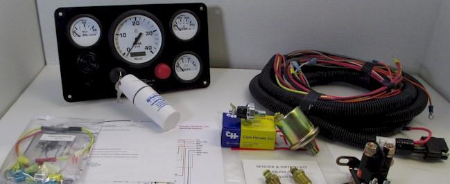 Perkins Engine Instrument Panels | Marine Instrument Panels with Gauges -  Senders - Alarm Switches - TachometersTrans Atlantic Diesels