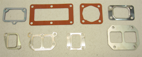 Bowman Heat Exchanger Gaskets for Perkins T6.354 Diesel Engines