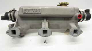 Bowman Heat Exchanger for British Leyland B1.8 Diesel Engines