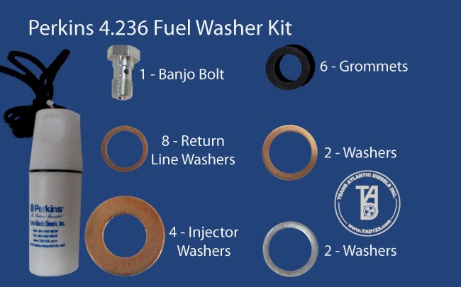 Perkins 4.236 Fuel Washer Kit