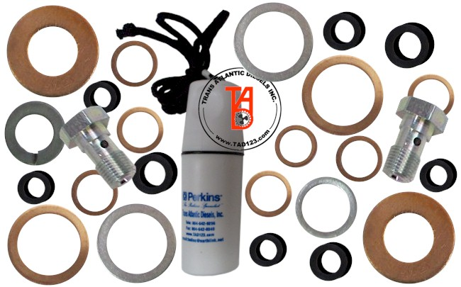 Perkins T6-354 and T6-354.4 Fuel Washer Kit